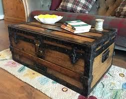 trunk coffee table set black trunk coffee table black trunk coffee table storage trunk with