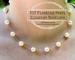 tutorial pearl necklace images Ilovetocreate blog diy floating pearl illusion necklace jpg