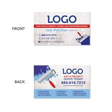 Business Cards Painting Business Cards For Painting Contractors Design Print Services
