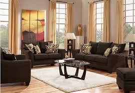 living room set brown living room sets fabric and leather rainbowinseoul