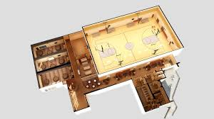 Church Gym Floor Plans by Oklahoma City First Church Of The Nazarene Cole Community Center