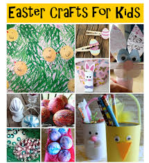 25 quick and easy easter crafts for kids rural mom