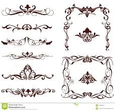 vector ornamental borders stock vector image 57306553