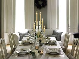 white and silver table runner holly day home stick to a simple colour scheme for stylish and