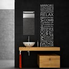 Mirror Stickers Bathroom Classic Wall Decal Bathroom Mirror Toilet Make Up Sticker Mural