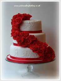 red and white 2 tier wedding cake ct hasanah cake house tier pink