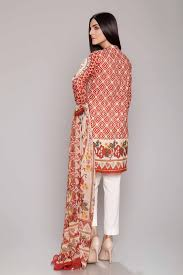 chinyere lawn collection stitched 2 piece suit desert flower in