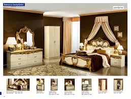 bedroom italian high gloss beige and silver bedroom furniture set