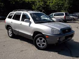 2004 hyundai suv 2004 hyundai santa fe gls 4dr suv in springfield ma wheels and deals
