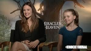 Miracle In Heaven Exclusive Garner Rogers Beam Talk