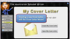 the australian résumé writer cover letter wizard youtube