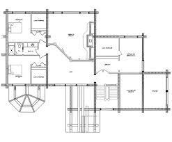 Log House Floor Plans Log Home Floor Plan Casa Grande
