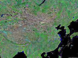 Map Of The Great Wall Of China by China Map And Satellite Image