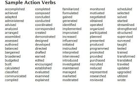Best Words To Use On Resume by Mesmerizing Verbs To Use On Resume 82 For Modern Resume Template