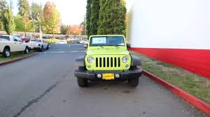 cpo lexus seattle 2016 jeep wrangler sport 4x4 hypergreen clear coat gl323365
