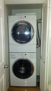 Washing Machine That Hooks Up To Faucet Appliances How To Move Stacked Washer Dryer From Closet Home