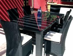 chaise tress e ensemble table et chaises de jardin en resine tressee maison email