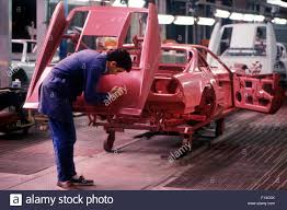 ferrari factory the ferrari production line at the maranello factory in italy 1987