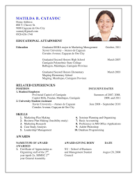 Resume Template For Students First Job by First Job Resume Template 19 Resume Template First Job Amazing