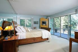 mid century modern master bedroom homes design inspiration