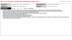 Cnc Machinist Resume Cover Letter Ghostwriting Site Us Resume Edge Sample Cover Letters
