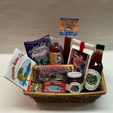 salmon gift basket of alaska gift basket