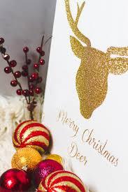 Glitter Deer Christmas Decor by Diy Glitter Deer Head Bespoke Bride Wedding Blog