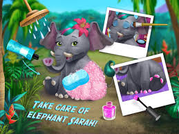 jungle animal hair salon wild pets makeover android apps on