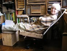Diy Ergonomic Desk Diy Ergonomic Reclining Desk Chair Bare Bones The Chair Flickr