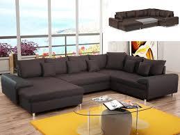sofa ecke wohnlandschaft schlafsofa clement braun ecke links