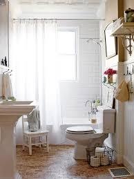 Bathroom White Brick Tiles - white design ideas for small bathroom design ideas with brick wall