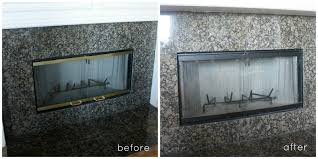 washi tape fixes brass fireplace surround crazy wonderful