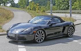red porsche boxster 2017 new 2016 porsche boxster tester drops remaining body camo