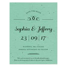 save the date designs formal text plantable save the date card plantable seed save the