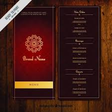 indian menu template 3841 best design freebies images on restaurant menu