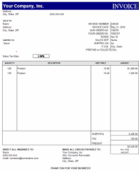 Invoice Template Excel Free Sales Invoice Template Excel Free Invoice Exle