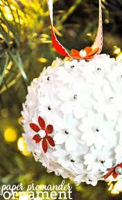 Homemade Ornaments For Christmas by Diy Paper Pomander Ornaments The Love Nerds