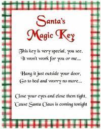 santa key image result for santa s magic key poem printable christmas