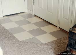 diy painted tile neat wood tile flooring with floor tile paint