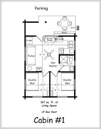one bedroom cottage floor plans one bedroom cabin floor plan exceptional plans botilight