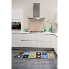 accessoir cuisine tapis tapis de cuisine accessoir multicouleur 50x150 par