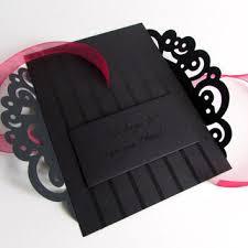 black wedding invitations black wedding invitations gangcraft net