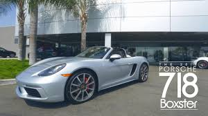 boxster porsche 2017 new porsche 2017 718 boxster test drive youtube