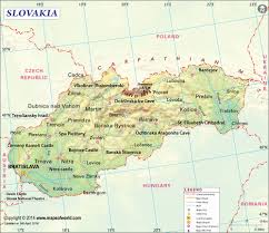 Map Of Germany And Poland by Slovakia Map Map Of Slovakia