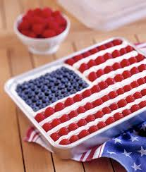 Use Flag Delicious Brownie Flag Recipe