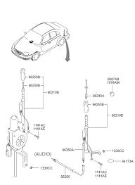 hyundai accent parts catalog antenna for 2005 hyundai accent style hyundai parts deal