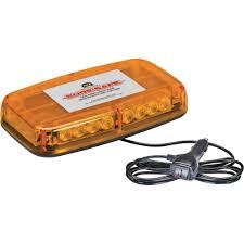 warning light bar amber wolo sure safe gen 3 low profile led light bar amber lens model