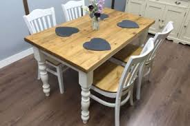 9 rustic chic kitchen table large shabby chic rustic farmhouse