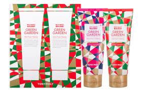 toni moli edition tony moly green garden foam cleanser set hermo