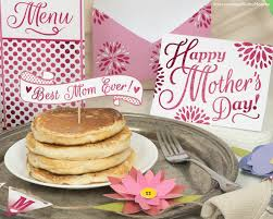Diy Mother S Day Card by Mother U0027s Day Breakfast In Bed Printable Diy Kit Card